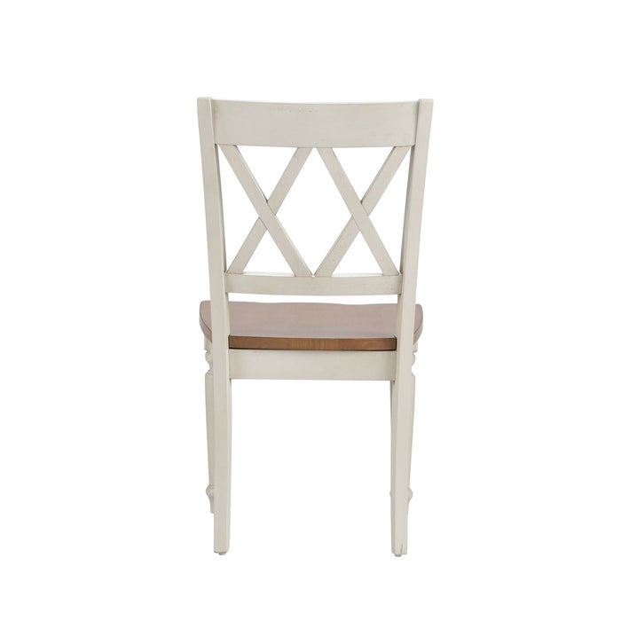 Liberty Furniture | Casual Dining Double X Back Side Chairs in Richmond Virginia 10705