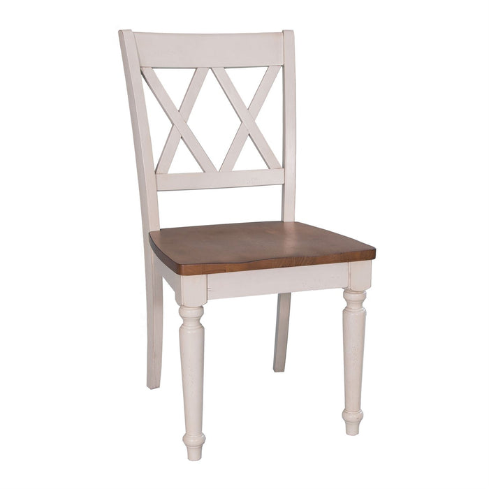 Liberty Furniture | Casual Dining Double X Back Side Chairs in Richmond Virginia 10702