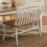 Liberty Furniture | Casual Dining Slat Back Benches in Richmond Virginia 10694