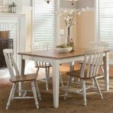 Liberty Furniture | Casual Dining 5 Piece Rectangular Table Sets in Hampton(Norfolk), Virginia 10256