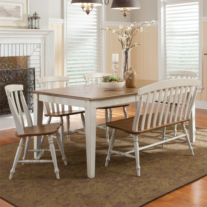 Liberty Furniture | Casual Dining 6 Piece Rectangular Table Sets in Winchester, Virginia 10259