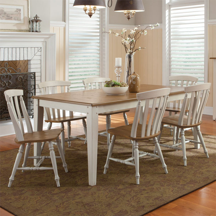 Liberty Furniture | Casual Dining 7 Piece Rectangular Table Sets in Lynchburg, Virginia 10263