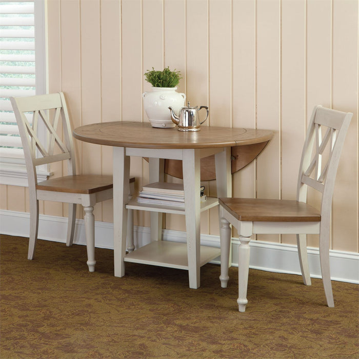 Liberty Furniture | Casual Dining Opt 3 Piece Drop Leaf Table Sets in Richmond Virginia 10230