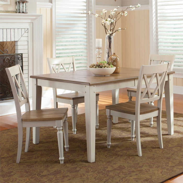 Liberty Furniture | Casual Dining Opt 5 Piece Rectangular Table Sets in Charlottesville, Virginia 10247