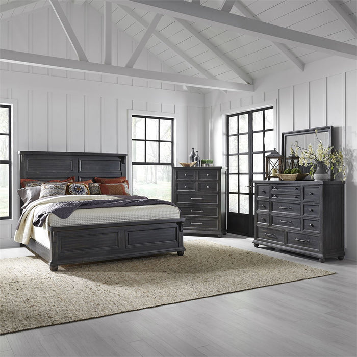 Liberty Furniture | Bedroom King Panel 3 Piece Bedroom Sets in New Jersey, NJ 2715