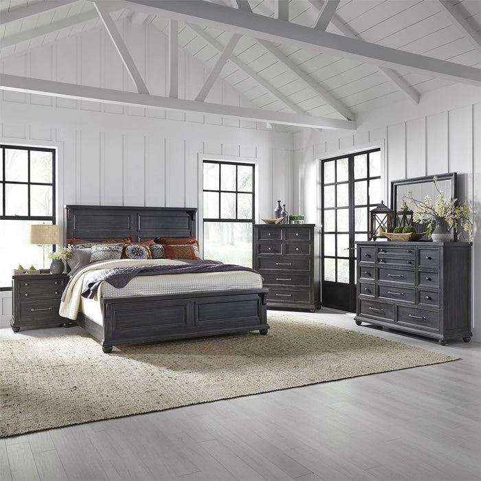 Liberty Furniture | Bedroom King Panel 5 Piece Bedroom Sets in New Jersey, NJ 2731