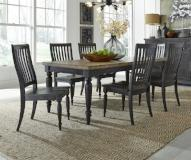 Liberty Furniture | Dining 7 Piece Rectangular Table Set in Frederick, Maryland 7787