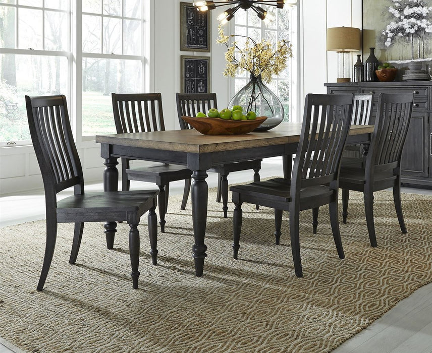 Liberty Furniture | Dining 7 Piece Rectangular Table Set in Frederick, Maryland 7788