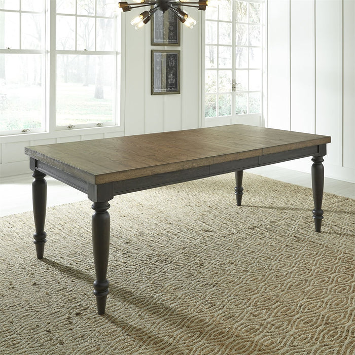 Liberty Furniture | Dining Rectangular Leg Table in Winchester, Virginia 7771