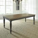 Liberty Furniture | Dining Rectangular Leg Table in Winchester, Virginia 7770