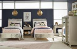 Legacy Classic Furniture | Youth Bedroom Upholstered Mermaid Bed Twin 3 Piece Bedroom Set in Baltimore, Maryland 10677