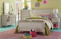 Legacy Classic Furniture | Youth Bedroom Upholstered Bed Twin 3 Piece Bedroom Set in Annapolis, Maryland 10786