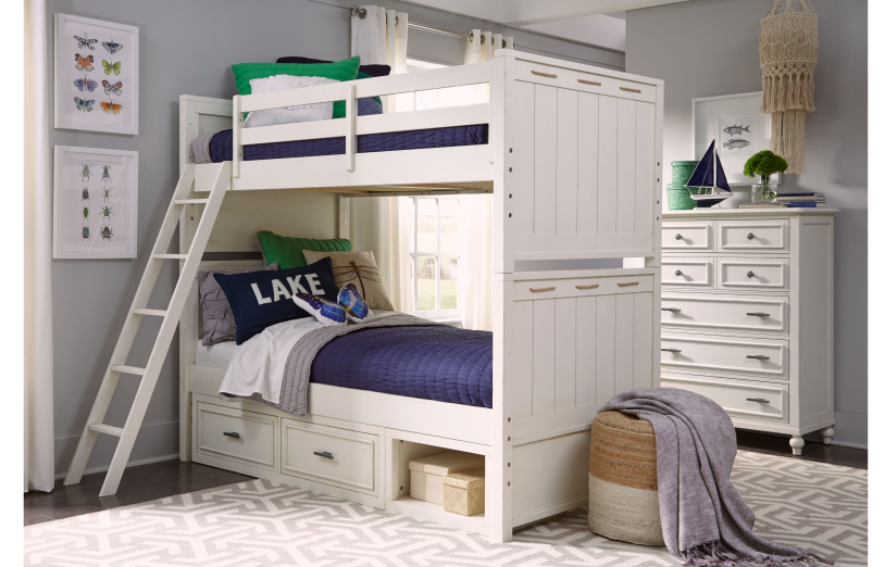 Legacy Classic Furniture | Youth Bedroom Twin over Twin Bunk Bed in Winchester, VA 14139