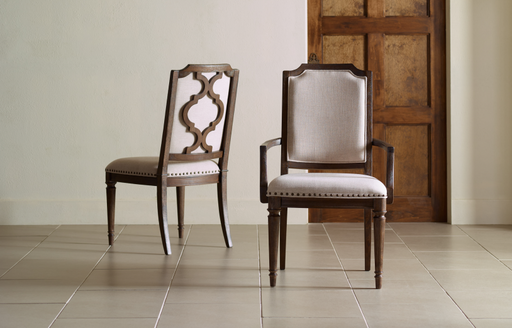 Legacy Classic Furniture |  Dining Upholstered Splat Back Arm Chair in Richmond,VA 785