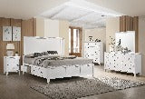 New Classic Furniture | Bedroom Queen Storage Bed 5 Piece Bedroom Set in Pennsylvania 5000
