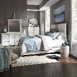 Liberty Furniture | Bedroom King Storage Bed 4 Piece Bedroom Set in New Jersey, NJ 18808