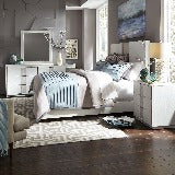 Liberty Furniture | Bedroom King Storage Bed 4 Piece Bedroom Set in Pennsylvania 18815