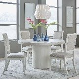 Liberty Furniture | Casual Dining 5 Piece Round Table Set in Winchester, Virginia 18354