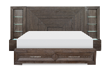 Legacy Classic Furniture | Bedroom Wall Panel Bed w/ Storage Footboard Queen in Pennsylvania 12140