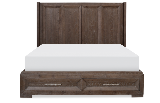 Legacy Classic Furniture | Bedroom Complete Shelter Bed w/ Storage Footboard Queen in Frederick, Maryland 12170