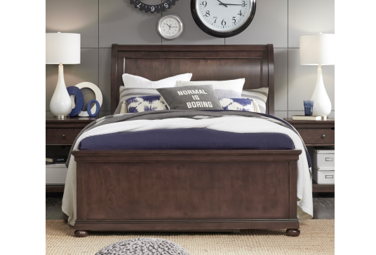 Legacy Classic Furniture | Youth Bedroom Complete Sleigh Bed Queen 5 Piece Bedroom Set in Pennsylvania 13947
