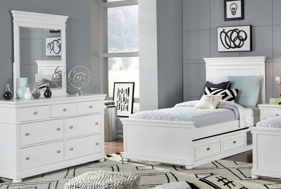 Legacy Classic Furniture | Bedroom Complete Panel Bed Twin 3 Piece Bedroom Set in Baltimore, MD 13977