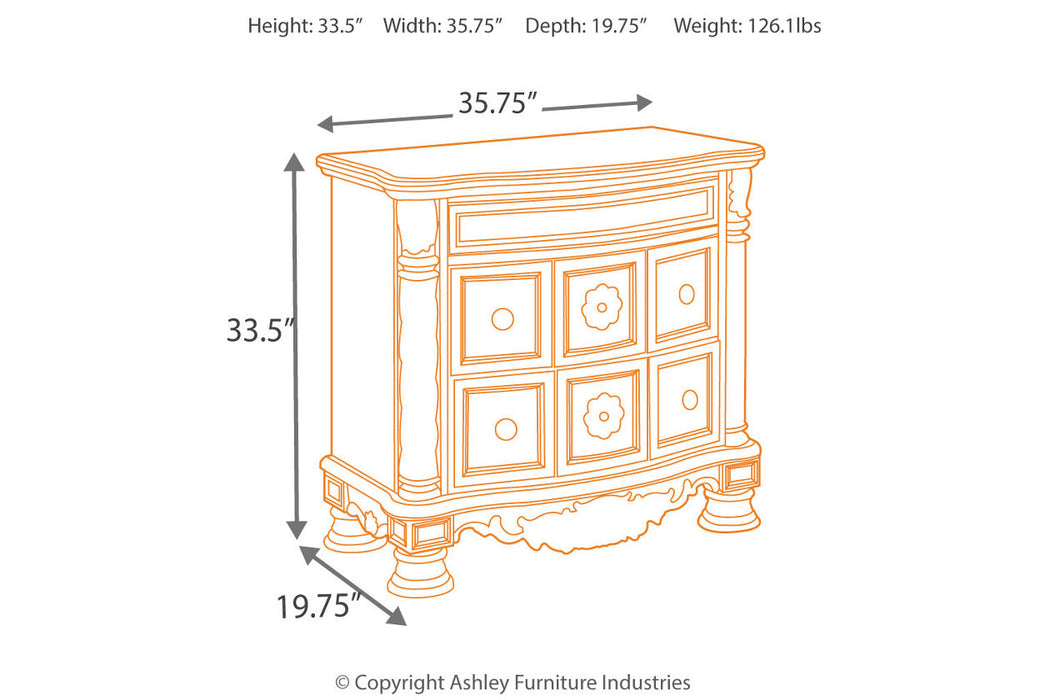 Legacy Classic Furniture | Bedroom Nightstand in Richmond,VA 9372