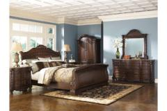 Ashley Furniture | Bedroom King Sleigh Bed 4 Piece Bedroom Set in Pennsylvania 9723