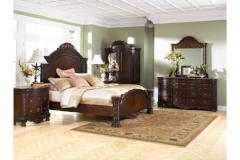 Ashley Furniture | Bedroom CA King Panel Bed 4 Piece Bedroom Set in Pennsylvania 9568