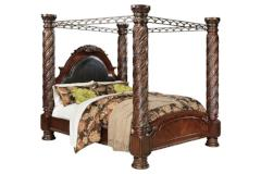 Ashley Furniture | Bedroom CA King Canopy Bed in Annapolis, Maryland 9898