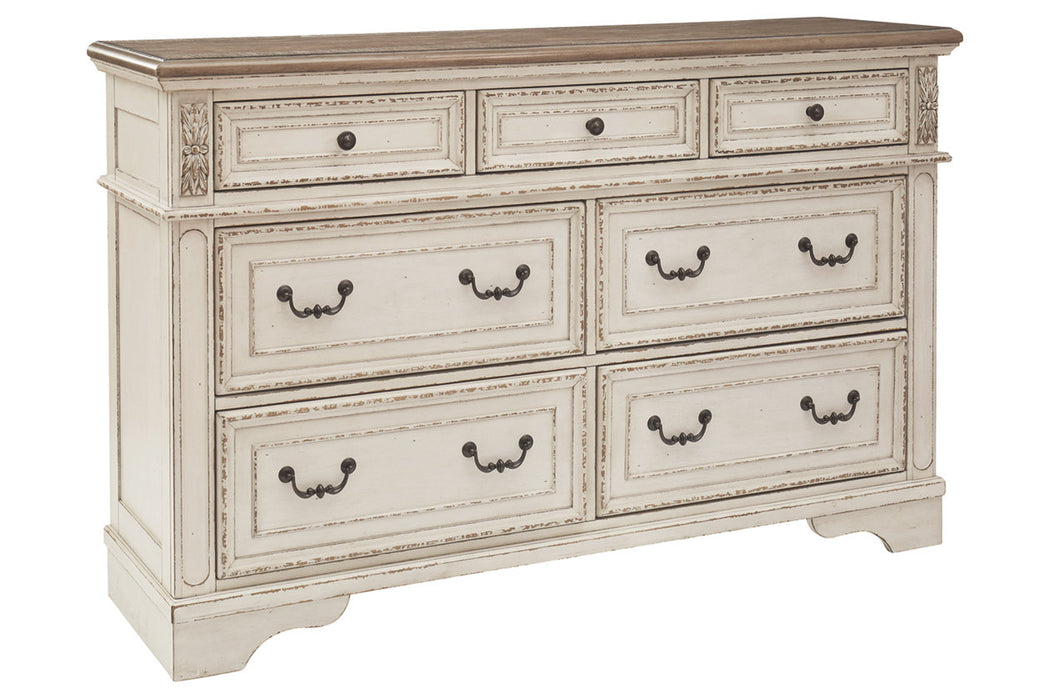 Ashley Furniture | Bedroom Queen Uph Panel 4 Piece Bedroom Set in Pennsylvania 7991
