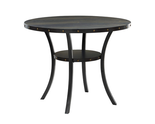 "New Classic Furniture | Dining 48"" Round Counter Table-Smoke in Richmond,VA 6001"