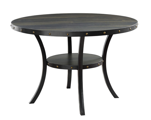 "New Classic Furniture | Dining 48"" Round Dining Table-Smoke in Richmond,VA 6005"