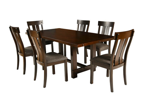 New Classic Furniture | Dining Standard Table 7 Piece Set in Charlottesville, Virginia 262