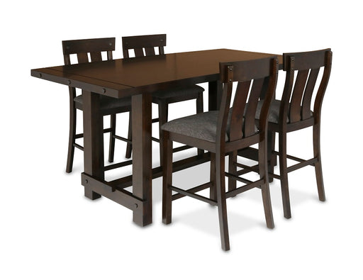 New Classic Furniture | Dining Counter Table 5 Piece Set in Winchester, VA 242