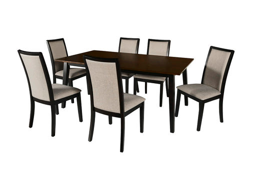 New Classic Furniture |  Dining Rectangular Table 5 Piece Set in Lynchburg, Virginia 698