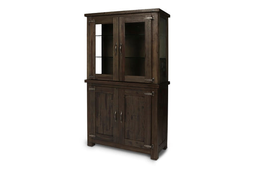 New Classic Furniture |  Dining Curio Cabinet w/ Wood Door Base in Annapolis, Maryland 751