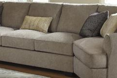 Ashley Furniture | Living Room Armless Loveseat in Richmond Virginia 7422