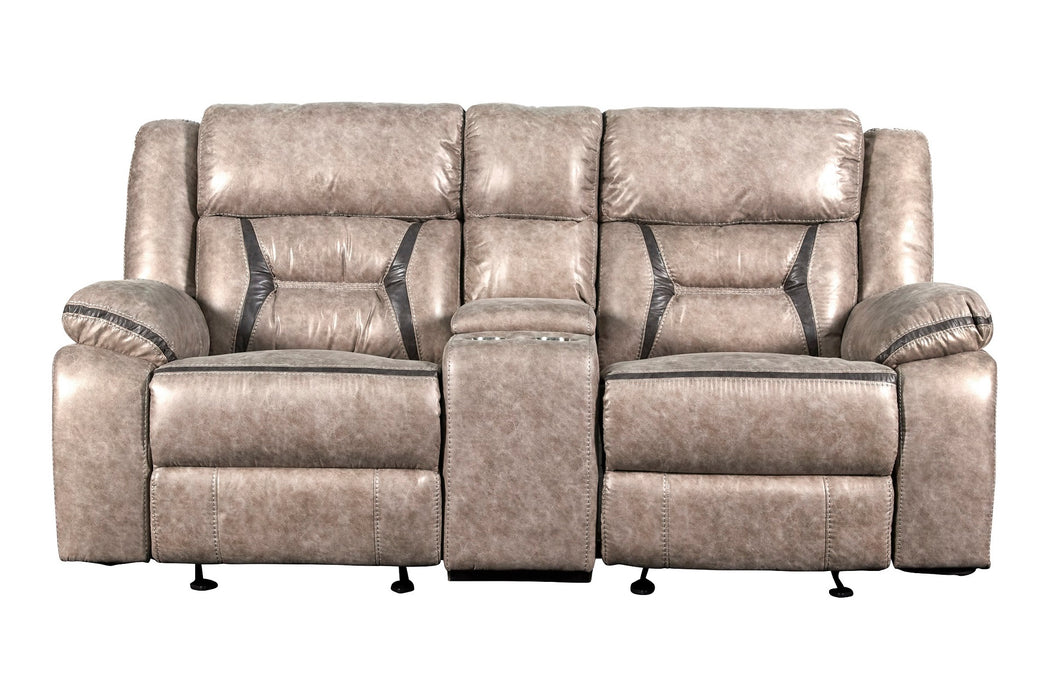 New Classic Furniture | Living Recliner Glider Console Loveseat w/ Dual Recliners in Richmond,VA 6056
