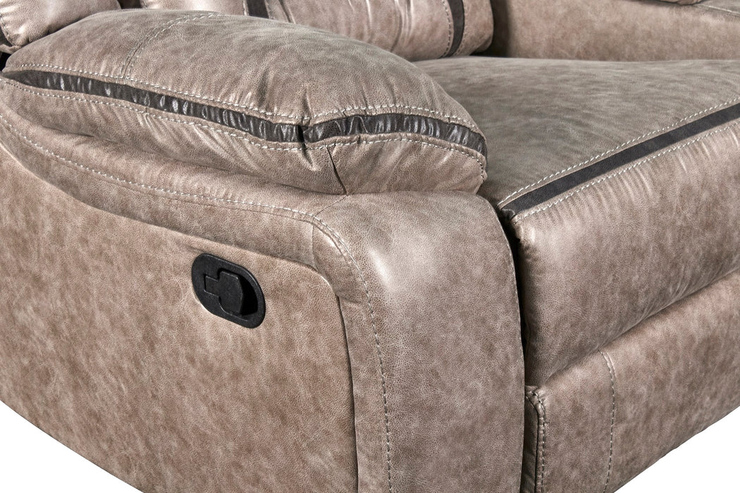 New Classic Furniture | Living Recliner Glider Console Loveseat w/ Dual Recliners in Richmond,VA 6060