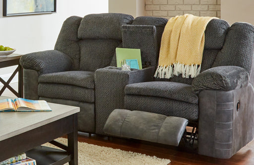 Lane Furniture | Living Recliner Power Double Motion Loveseat with Console in Winchester, VA 1215