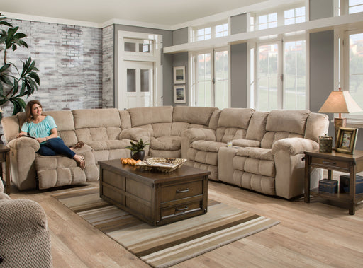 Lane Furniture | Living Recliner Power 3 Piece Sectional in Pennsylvania 579