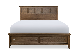 Legacy Classic Furniture | Bedroom Panel bed w/ Storage Footboard Queen in Charlottesville, Virginia 12708