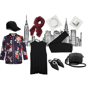Casual Black Chic
