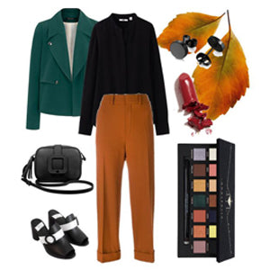 Fall Monday Office Outfit