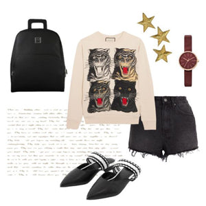Monotone Casual Look