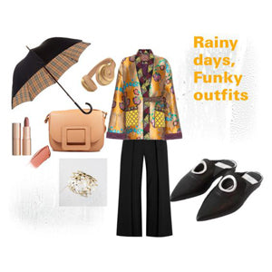 RAINY DAYS, FUNKY OUTFIT