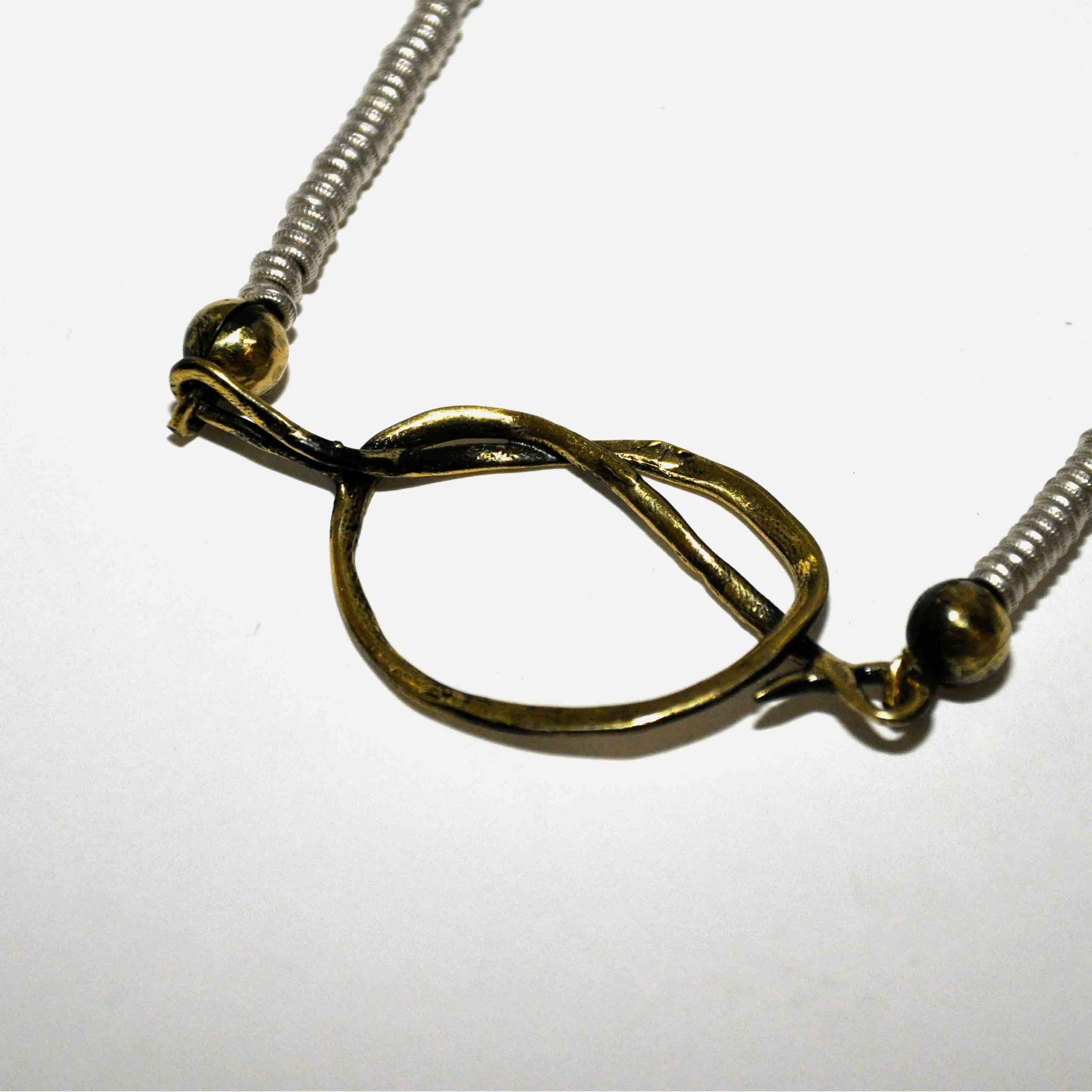 path of keith jack silver sterling life yellow in and necklace knot gold lewis