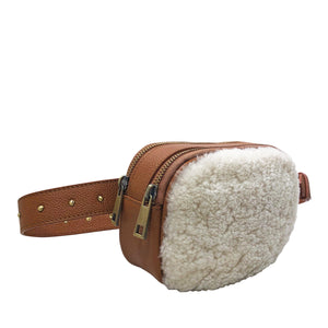 ALEXANDER SHERLING BELT BAG