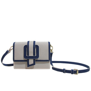 CEDRIC PERFORATED White/ Marine